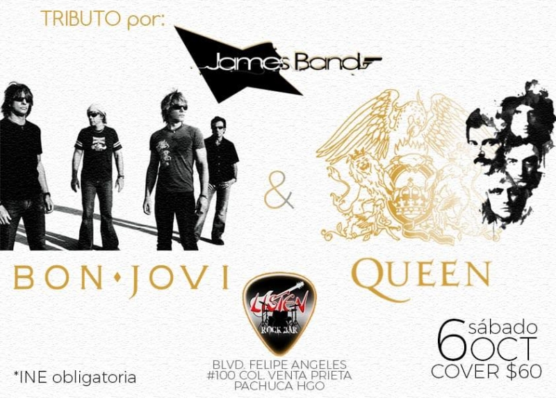 Tributo a Queen & Bon Jovi