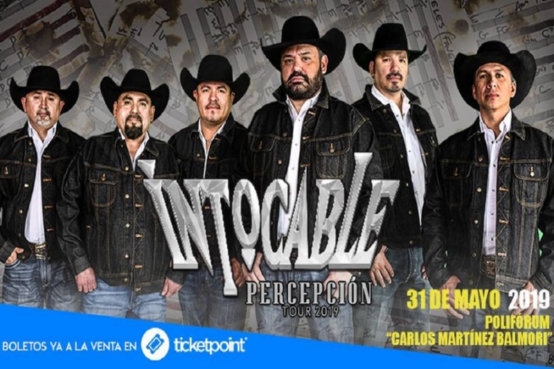 Intocable Percepción Tour 2019 en Pachuca