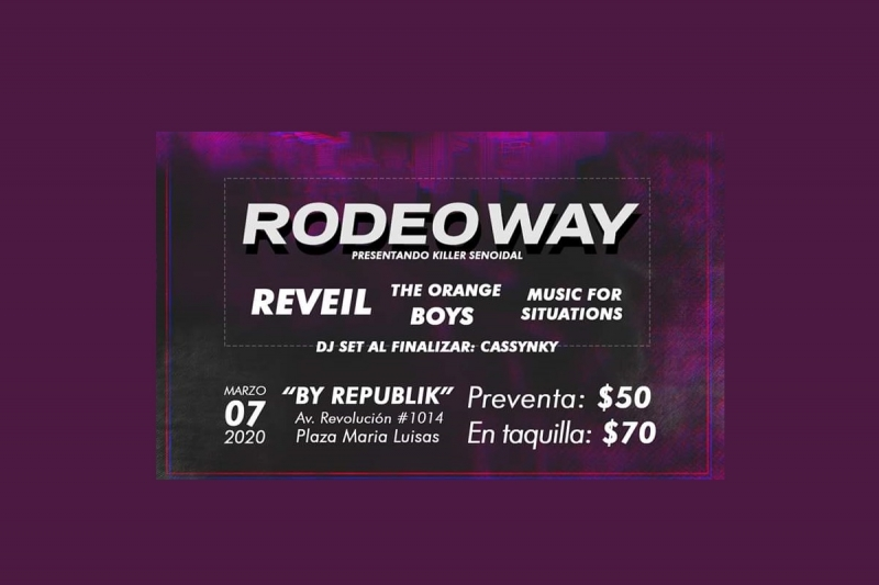 Rodeo Way Presenta: Killer Senoidal (07 de Marzo)